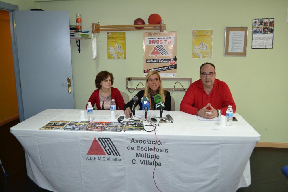 Apoyo para los enfermos de esclerosis múltiple y sus familias