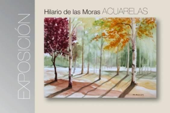 Exposición de Acuarelas. Hilario de las Moras