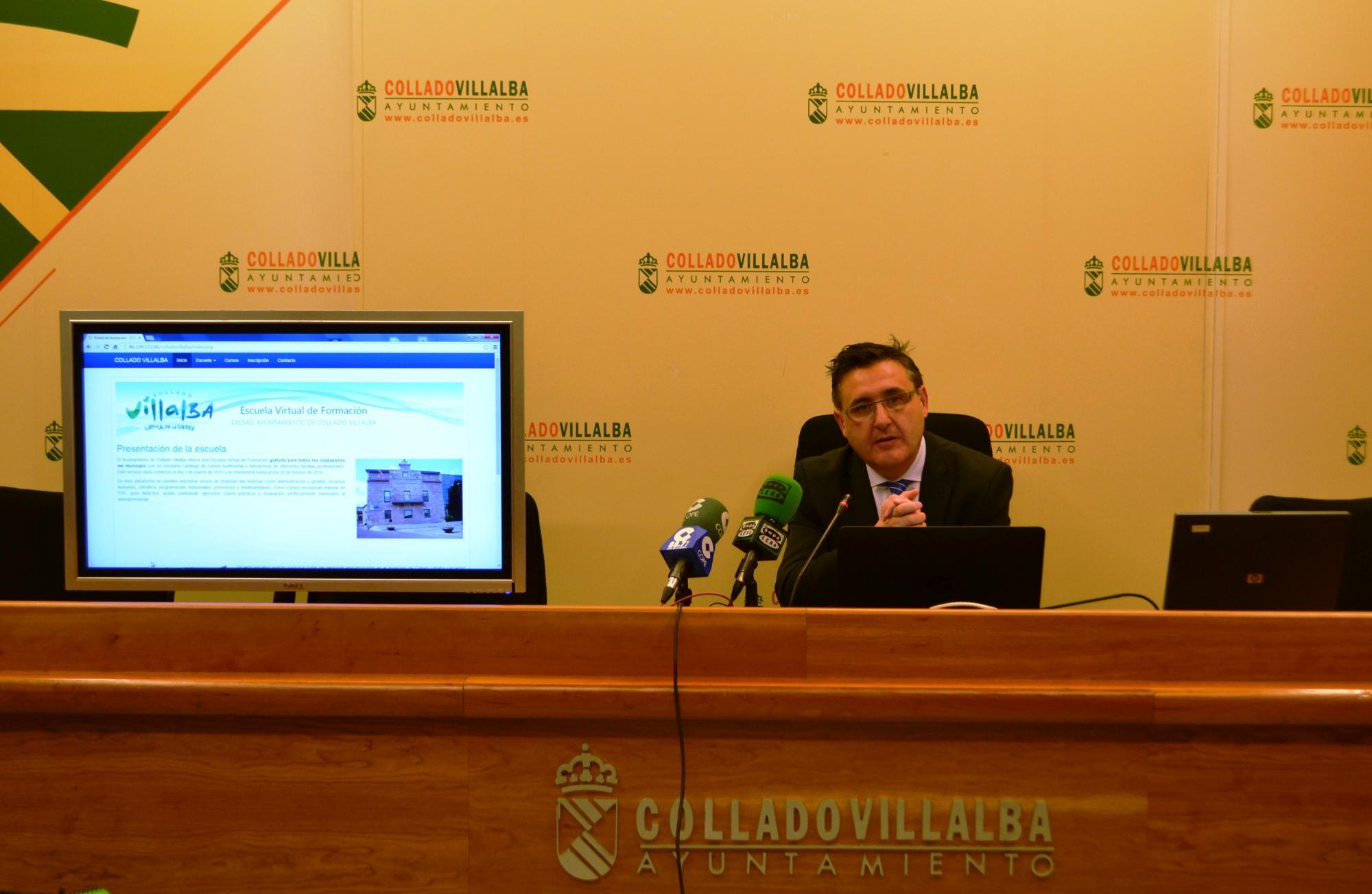 Nueva oferta de formación on line en Collado Villalba