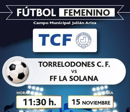 Fútbol femenino este domingo en Torrelodones