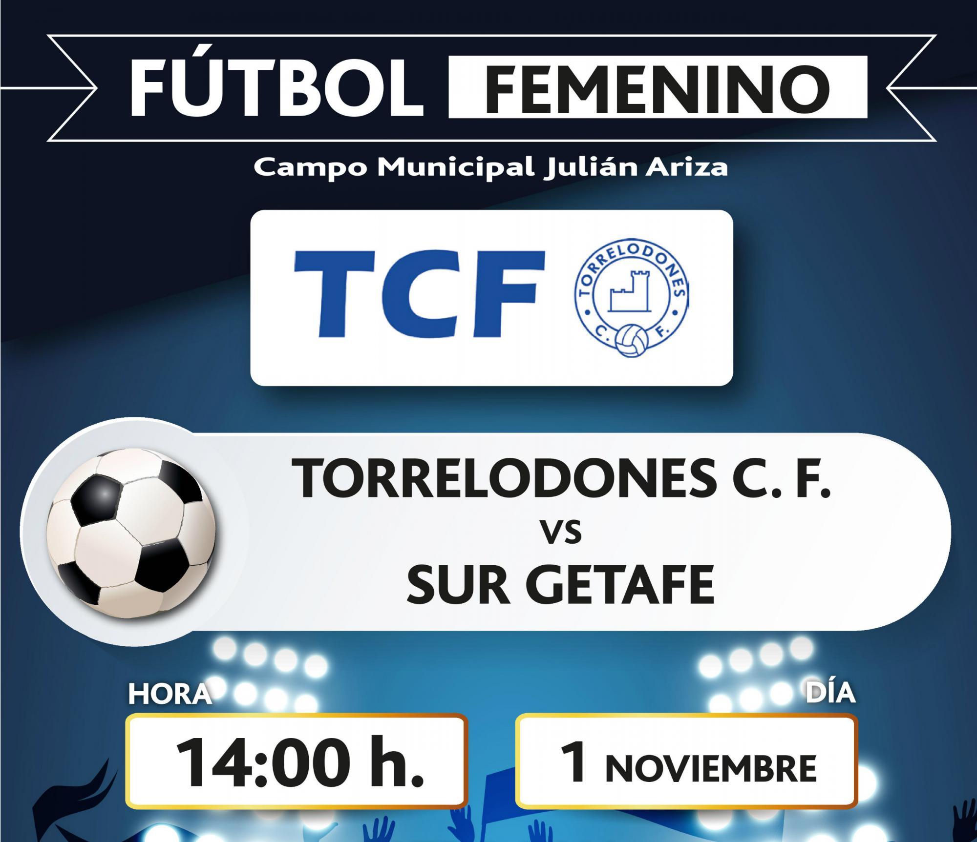 Los equipos femenino y masculino de futbol de Torrelodones, juegan este fin de semana