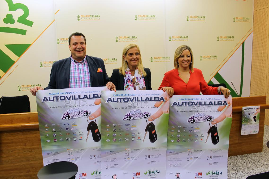 CyE y el Ayuntamiento presentan la XIV edición de AutoVillalba