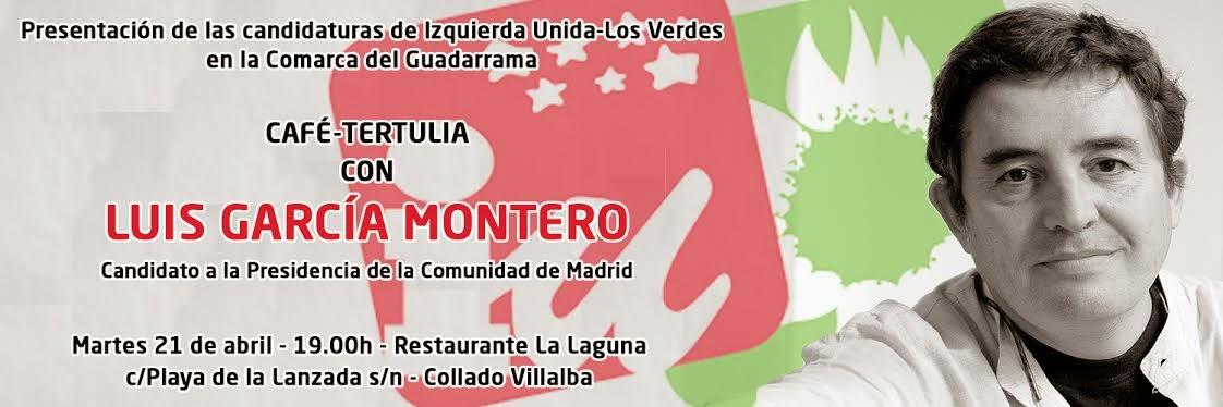 Izquierda Unida presenta a sus candidatos en la comarca del Guadarrama