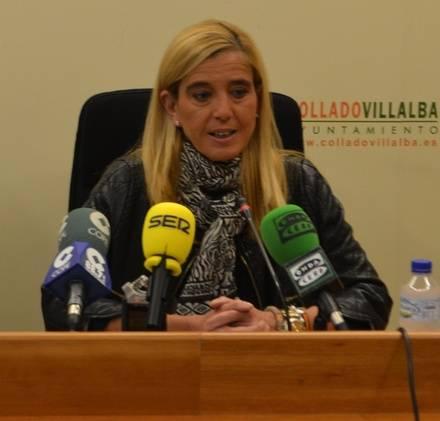 Mariola Vargas, alcaldesa de Collado Villalba / Archivo
