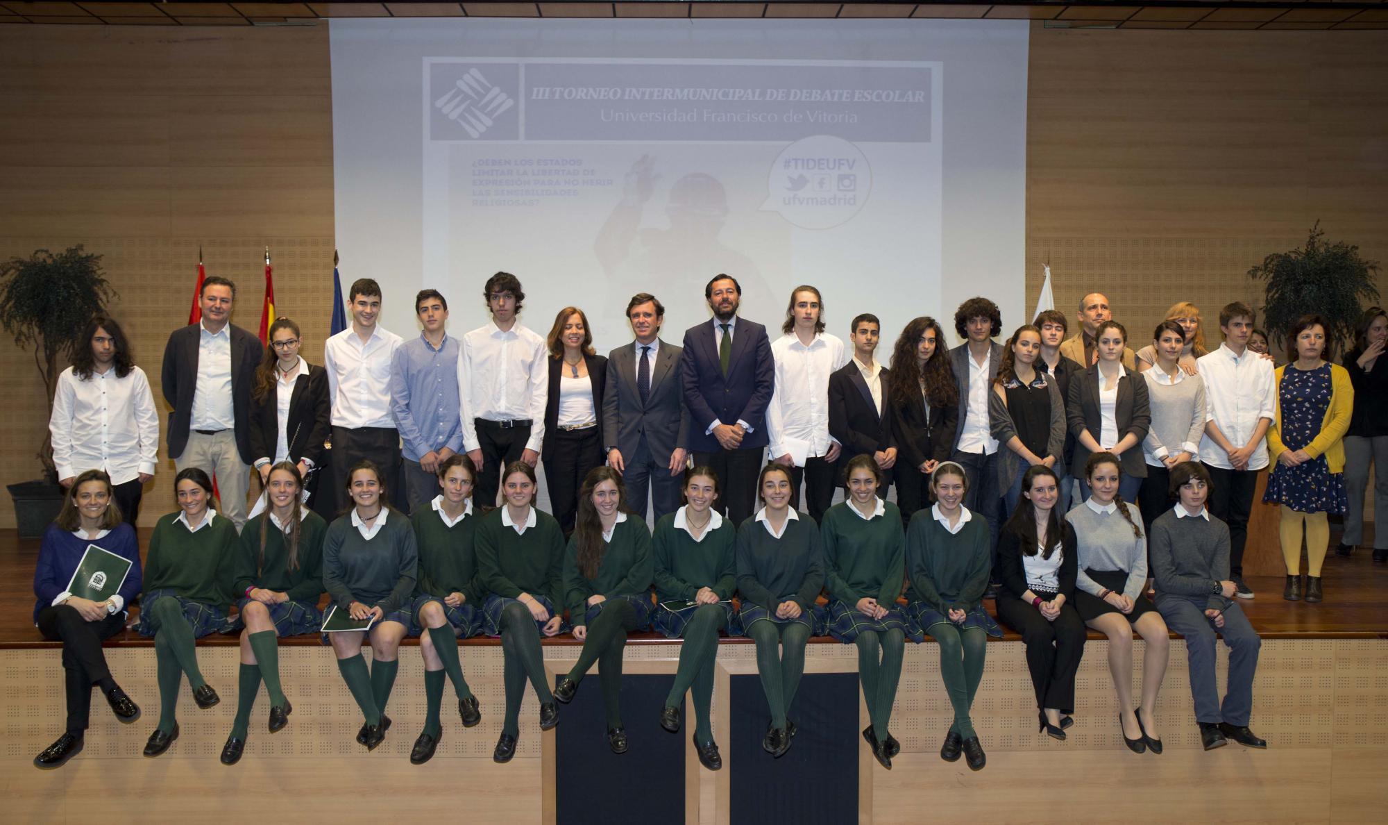 Arranca el III Torneo Intermunicipal de Debate Escolar con participación de alumnos de Las Rozas