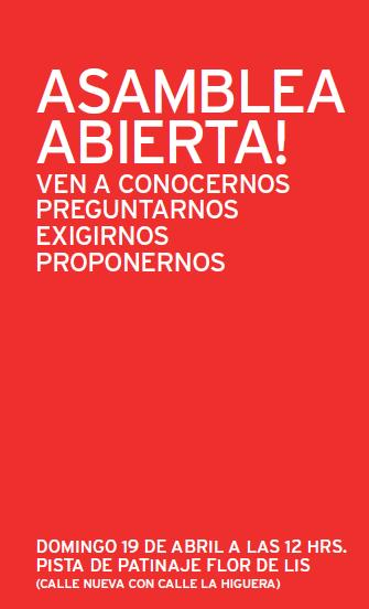 II Asamblea Abierta de los socialistas de Torrelodones