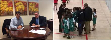El Colegio San Ignacio de Loyola refuerza su apuesta por el baloncesto de la mano del Club Baloncesto HM Torrelodones