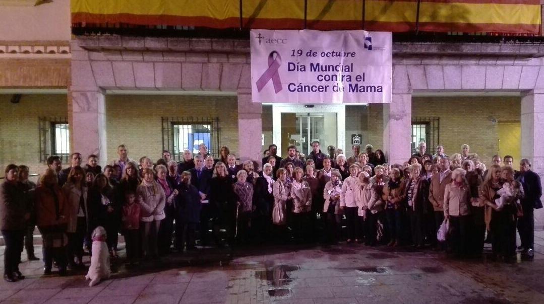 El Ayuntamiento de Las Rozas, comprometido con la lucha contra el Cáncer de Mama