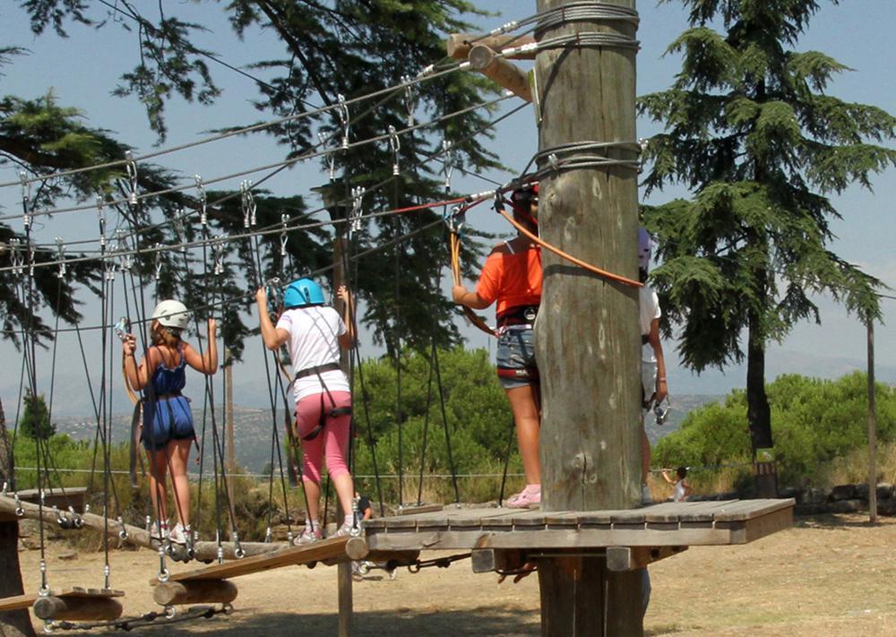 Actividades multiaventura en familia para el fin de semana for Mudanzas en las rozas