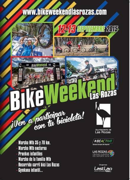 Las Rozas celebra el BikeWeekend este fin de semana