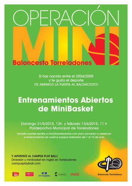 Jornadas de puertas abiertas en Minibasket Torrelodones