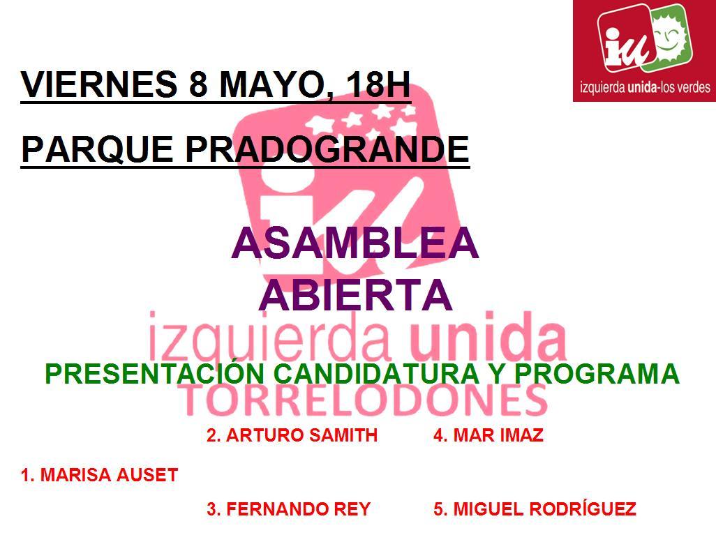 IU Torrelodones presenta su programa y candidatura