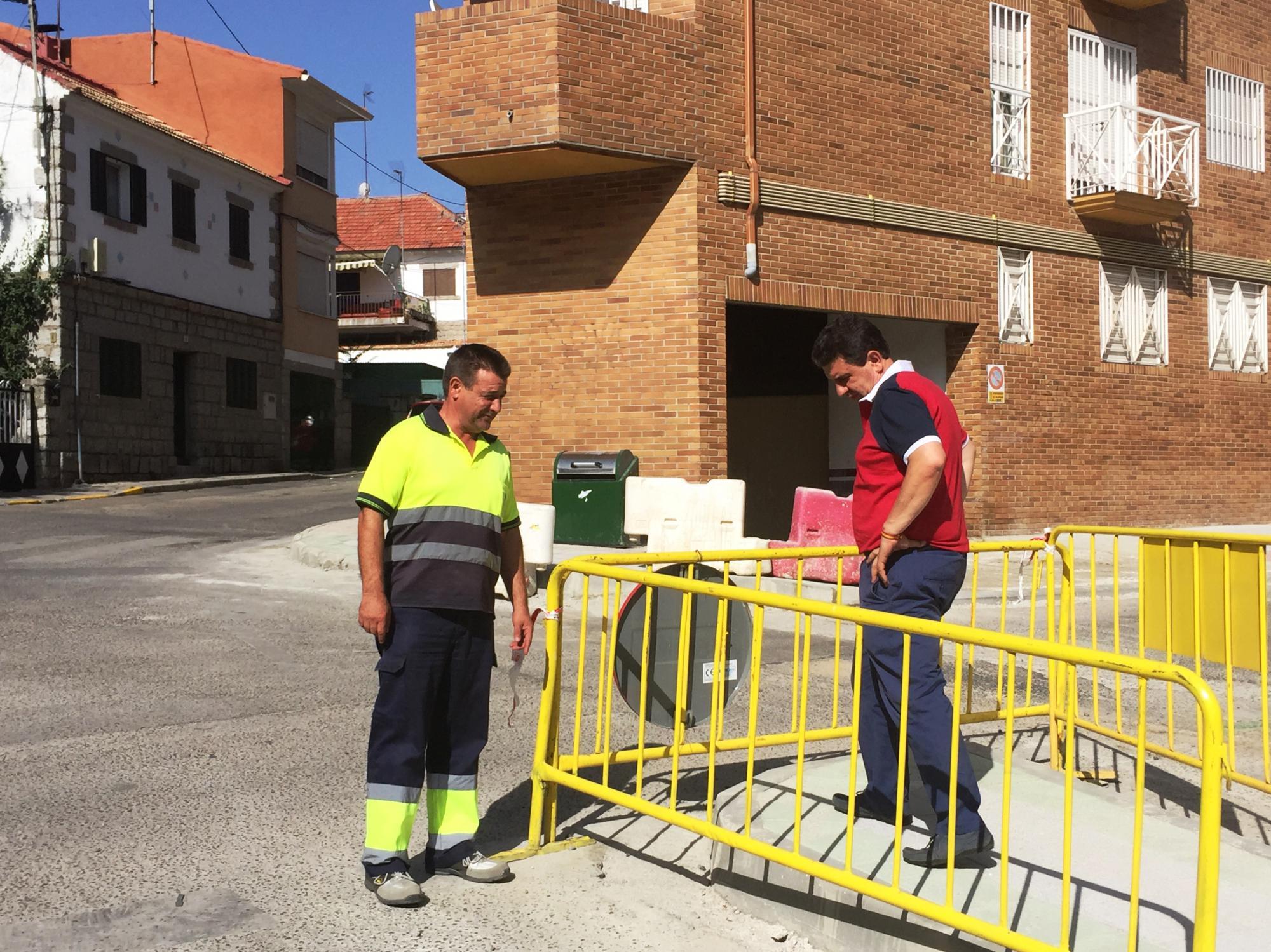 Galapagar prosigue con los trabajos de reorganización de calles