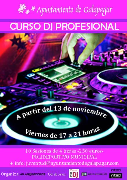 El ayuntamiento de Galapagar oferta el primer curso de la sierra noroeste para ser un DJ profesional