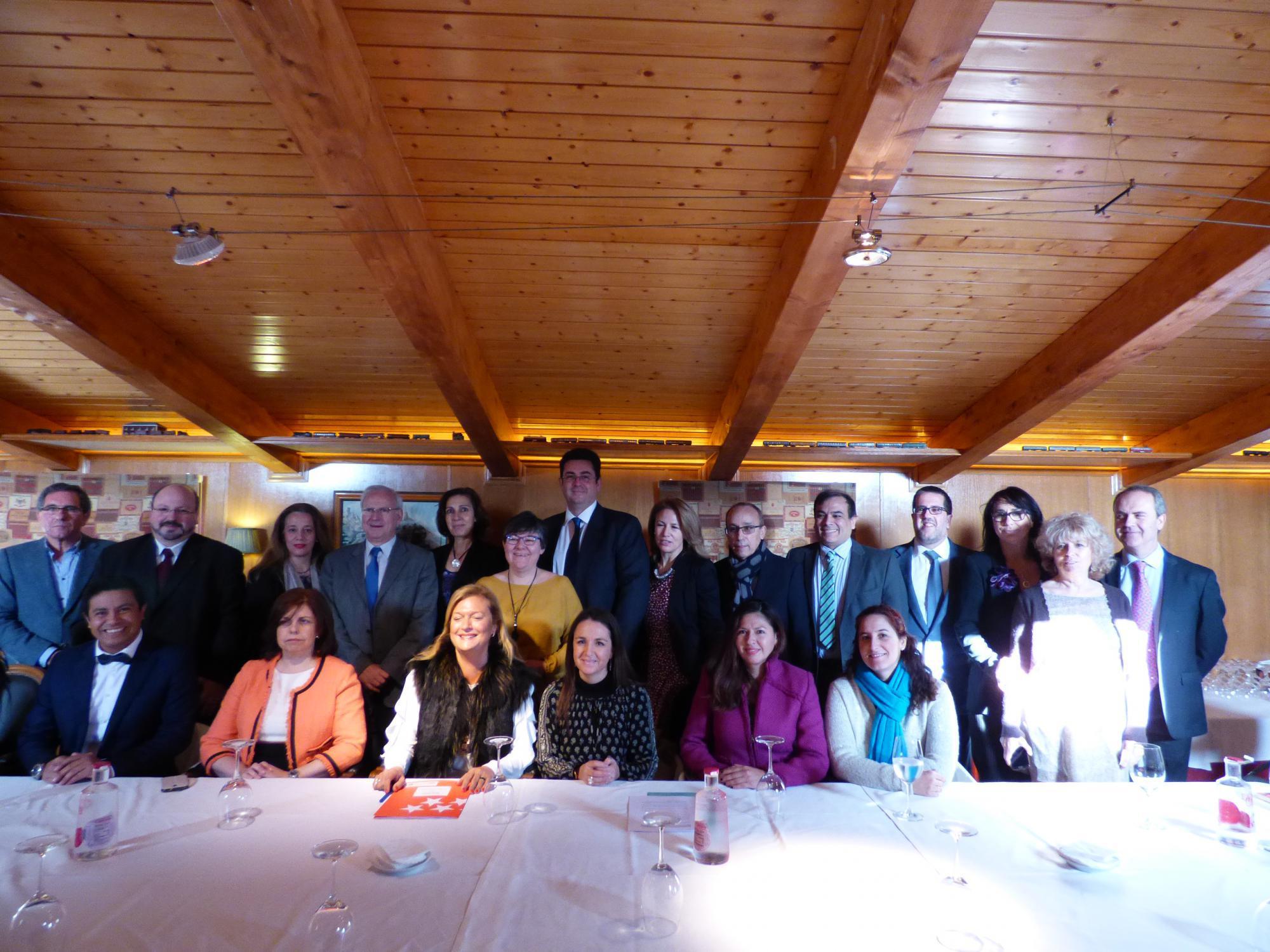 La Directora General de Comercio se reúne con el grupo de asociaciones empresariales de la Zona Noroeste y Norte de Madrid