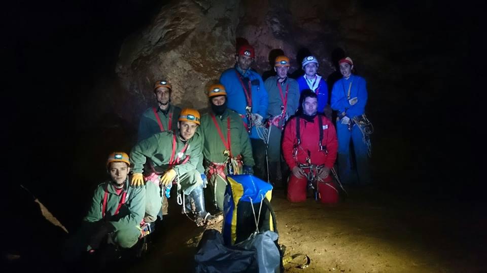 Espeleoclub Torrelodones destaca el éxito en la cota de descenso del III curso de iniciación