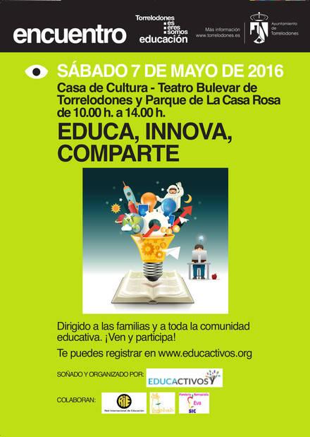 La Casa de Cultura de Torrelodones acogerá el encuentro educativo 'Educa, Innova, Comparte' el 7 de mayo