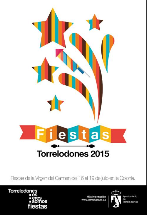Programa de las fiestas patronales de la Virgen del Carmen 2015 en Torrelodones
