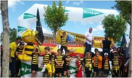 Torrelodones Rugby Club con las mejores escuelas en el Torneo Nacional disputado el pasado 24 y 25 de Mayo.