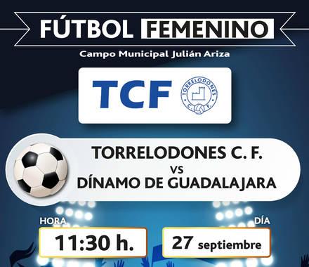 Fútbol femenino, este domingo en Torrelodones