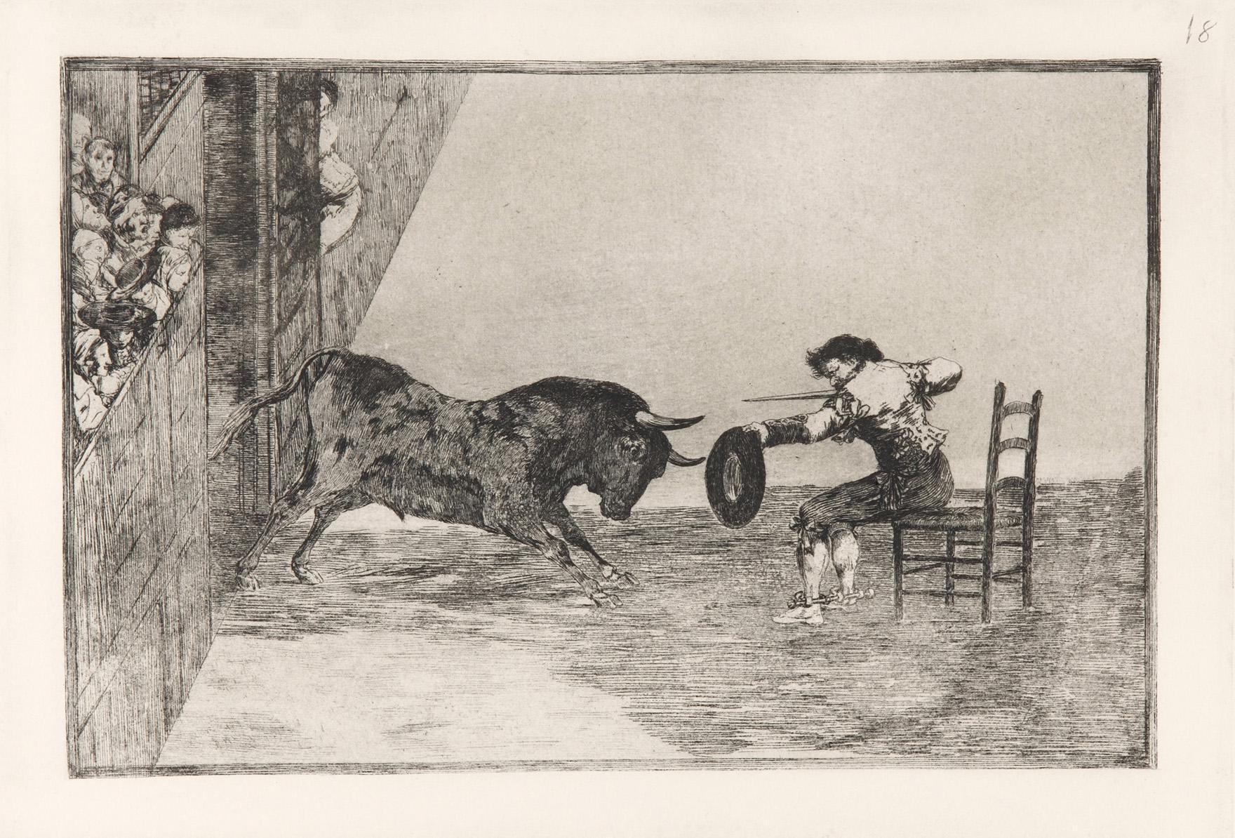 """Llega a Las Rozas la exposición itinerante """"La Tauromaquia"""", con grabados de Francisco de Goya"""