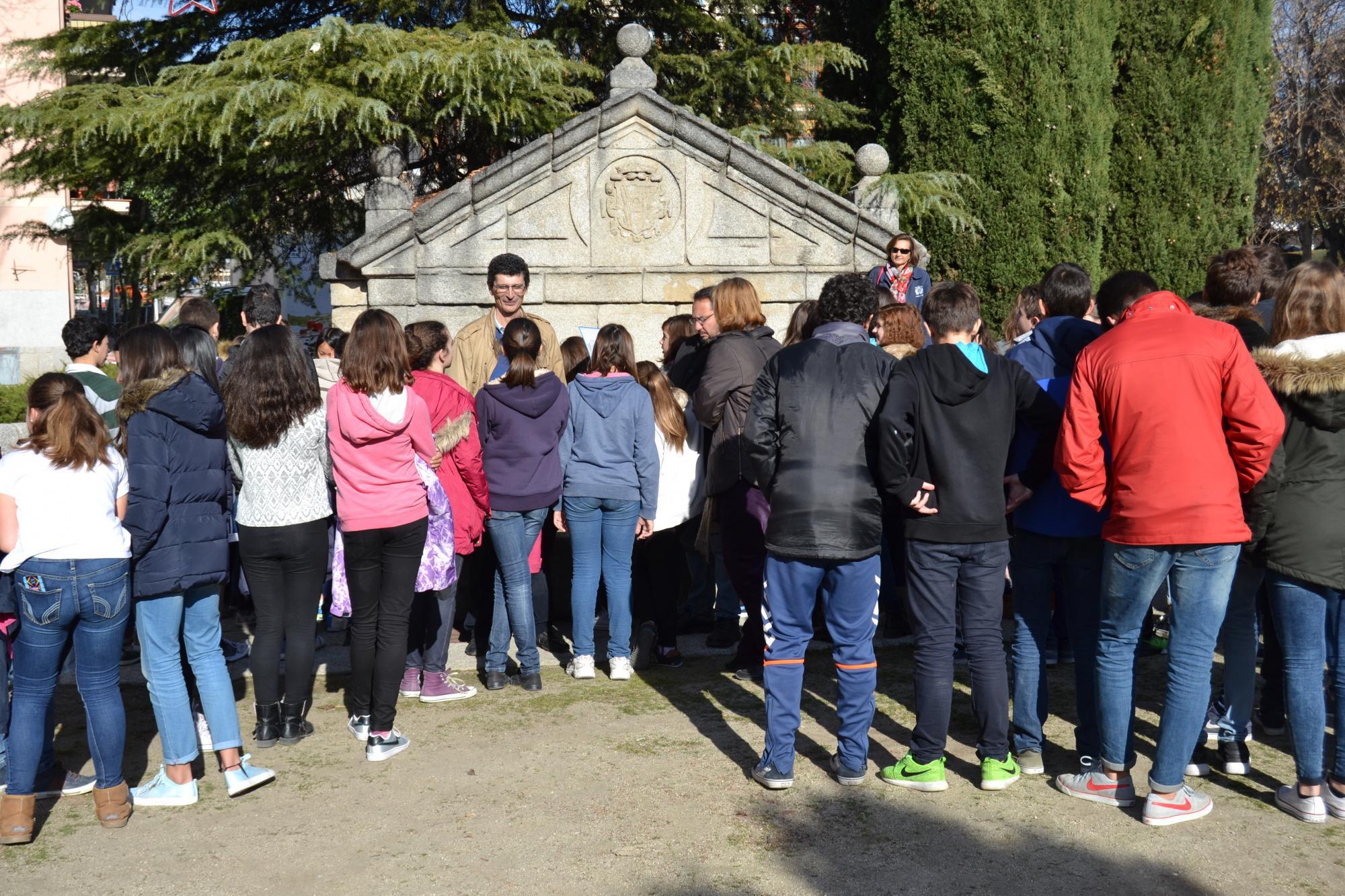 Las mejores aulas del Instituto participan en un recorrido histórico guiado