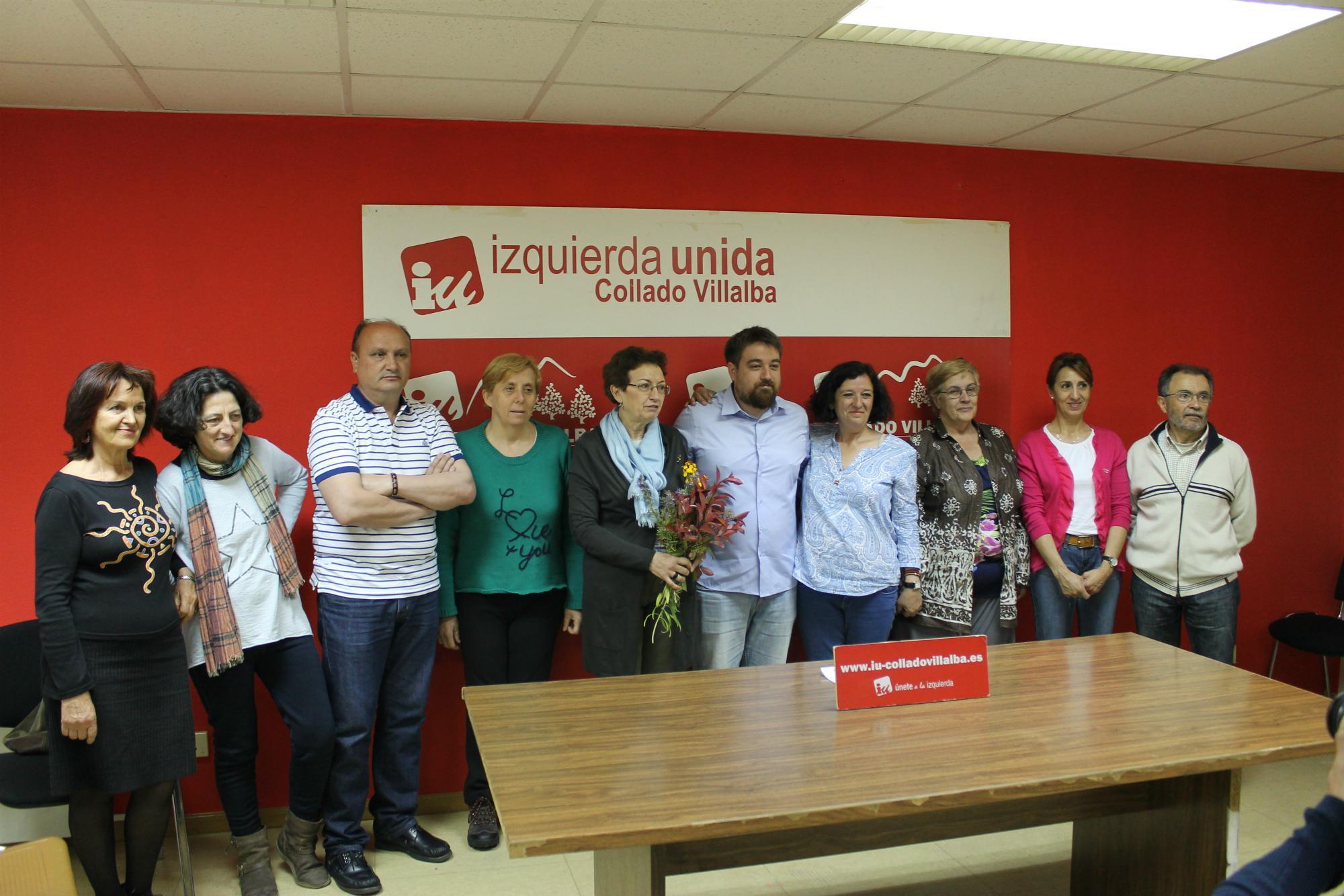 Izquierda Unida de Collado Villalba presenta su lista para las municipales