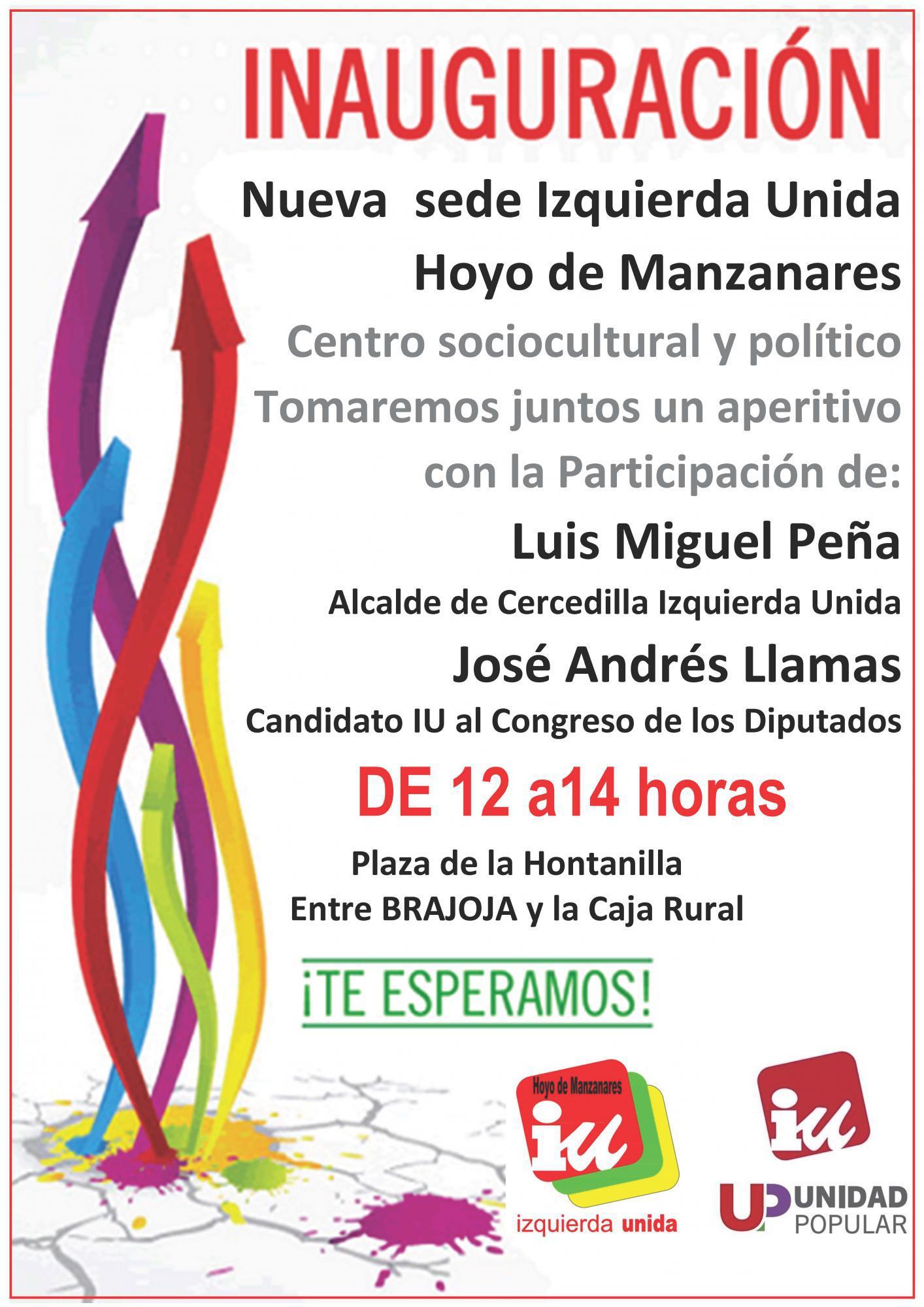 Nueva sede y centro sociocultural de IU en Hoyo de Manzanares