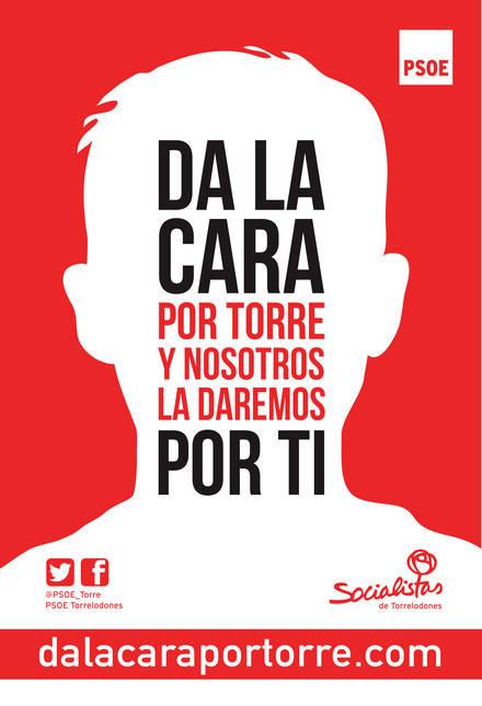 El PSOE de Torrelodones presenta su lema de campaña y su web