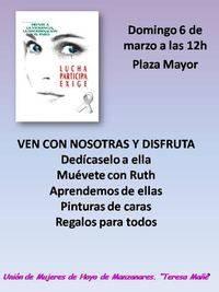 Las mujeres proponen -en Torrelodones y Hoyo- para el 8 de Marzo