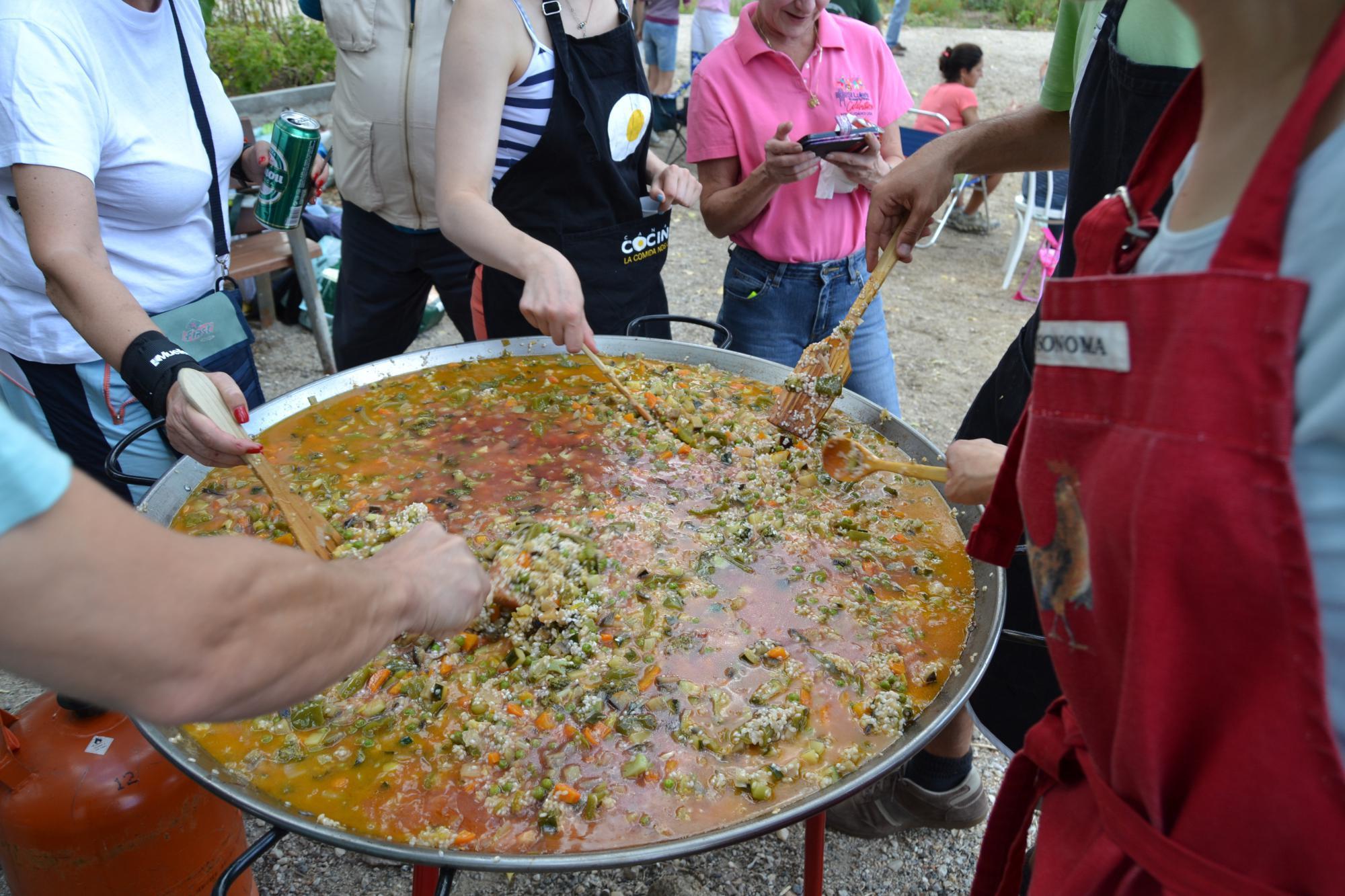 Los huertos urbanos de Torrelodones celebran la cosecha