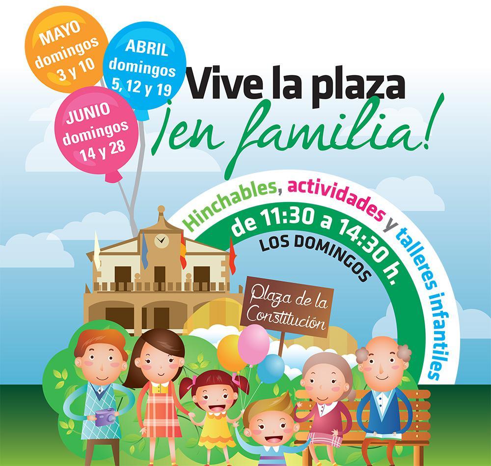 """""""Vive la plaza en Familia"""" cierra esta temporada con una fiesta"""