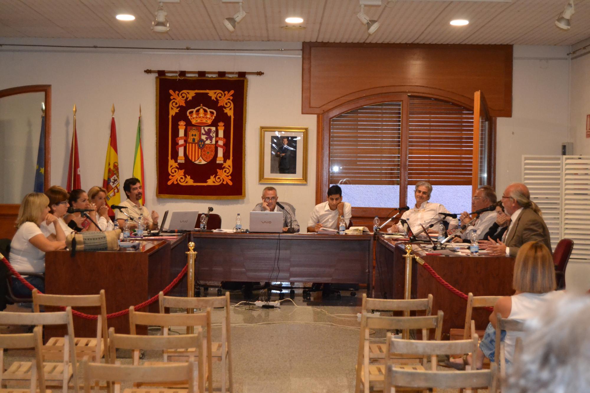 Un Pleno de divergencias en Hoyo de Manzanares