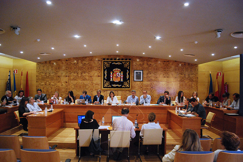 Reparto de delegaciones y retribuciones en el primer Pleno de la legislatura en Torrelodones