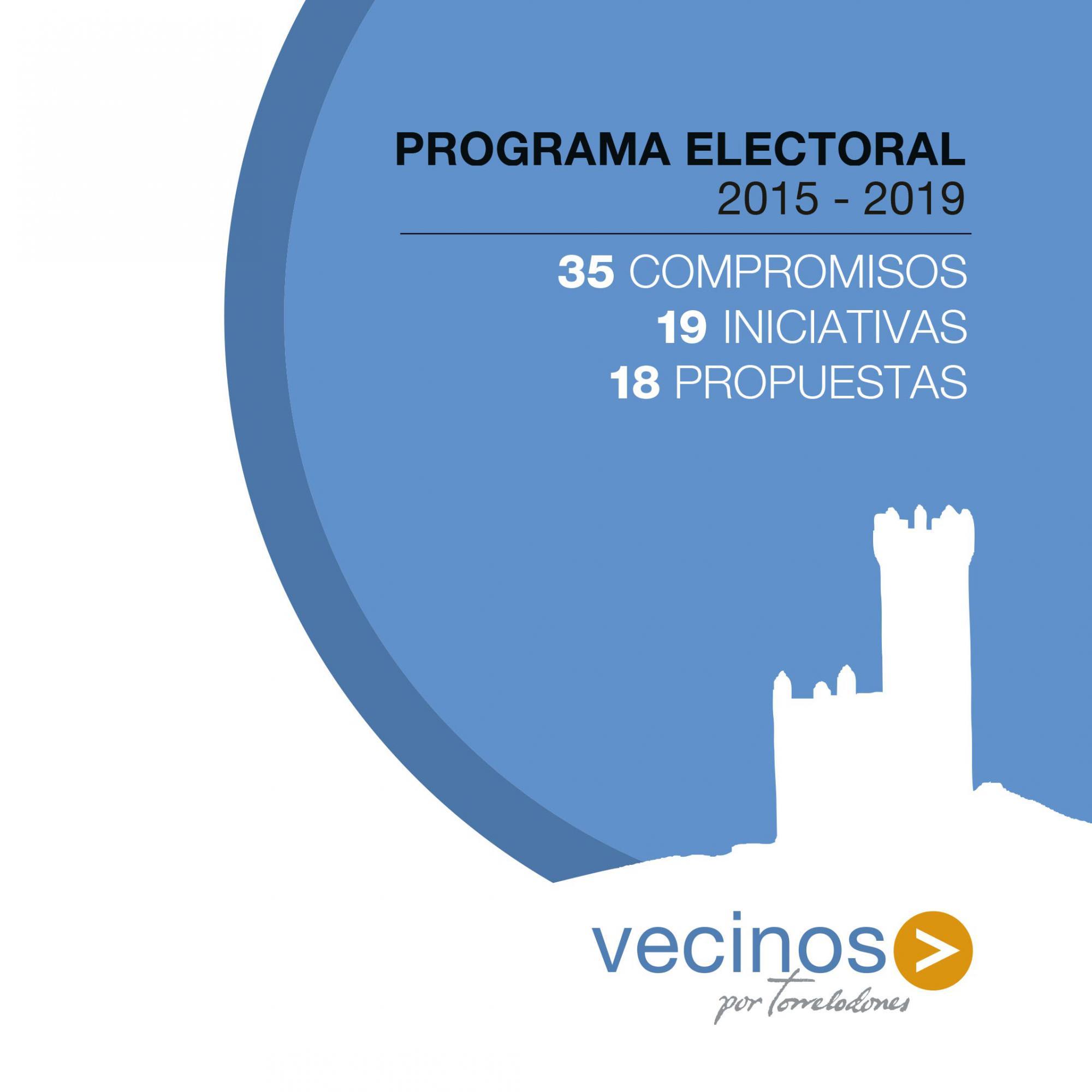 Vecinos por Torrelodones presenta candidatura y programa electoral