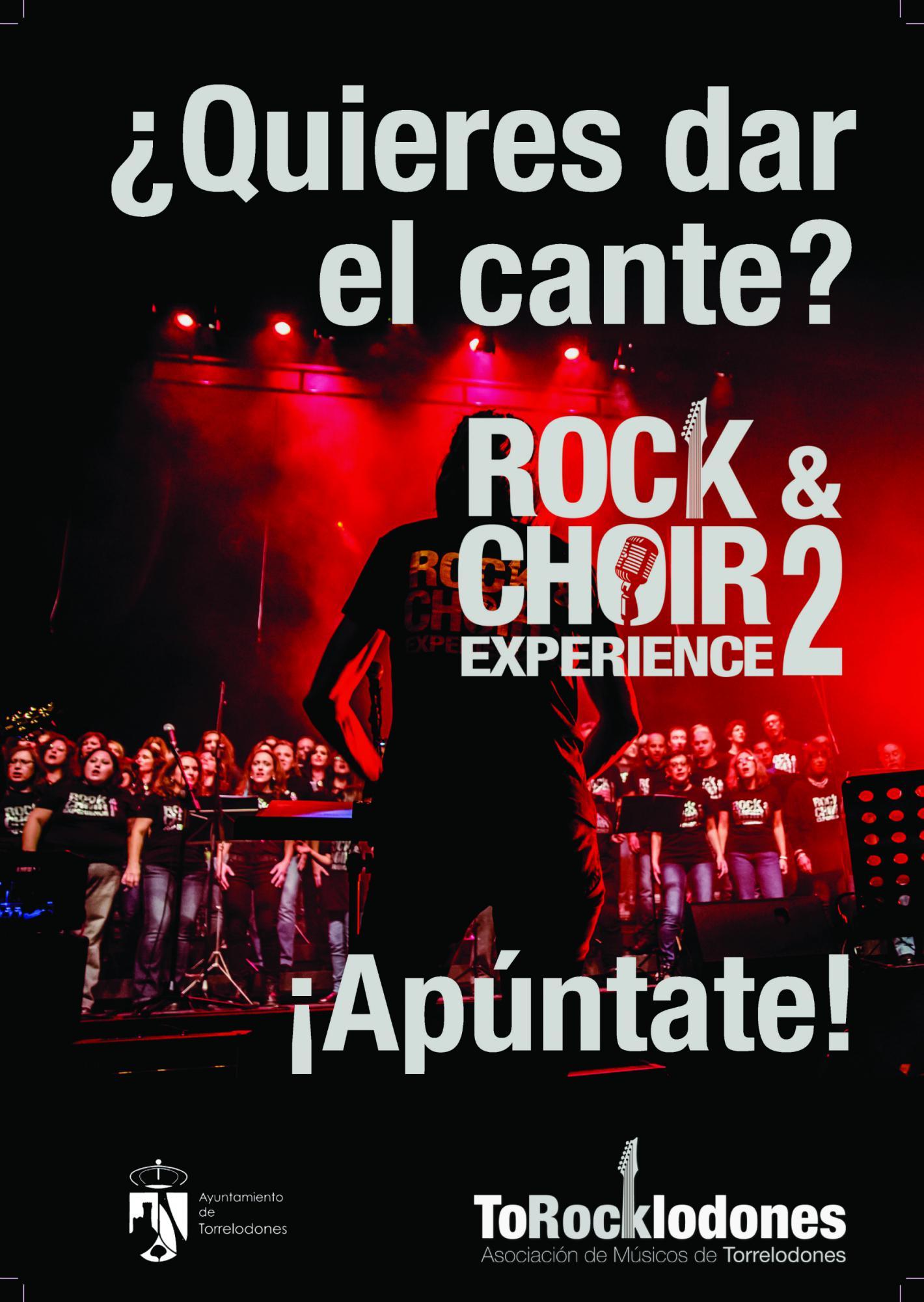 Rock & Choir ya prepara su segundo concierto.
