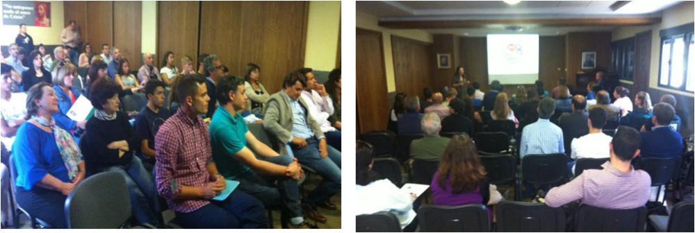 Gran éxito de convocatoria en la Primera sesión informativa de la FP San Ignacio