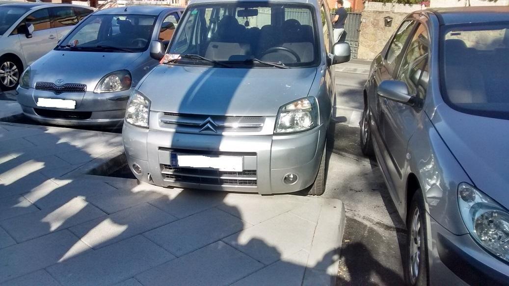 Espacio Abierto: aparcar en la C/ Francisco Sicilia