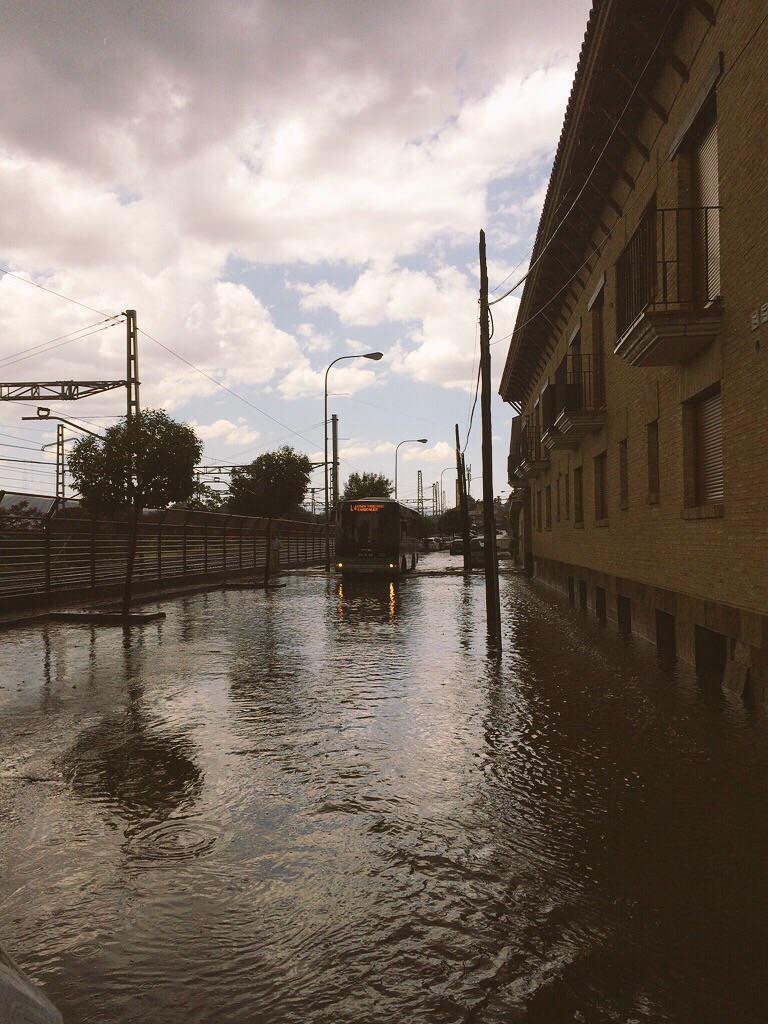 Diluvia en Torrelodones