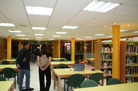 Las tres bibliotecas de Las Rozas abrirán las 24 horas en época de exámenes
