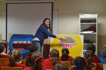 Los Zampabolsas se presentan en los colegios de Torrelodones