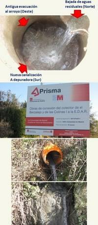 El Alcornoque informa al Ayuntamiento de vertidos en El Berzalejo