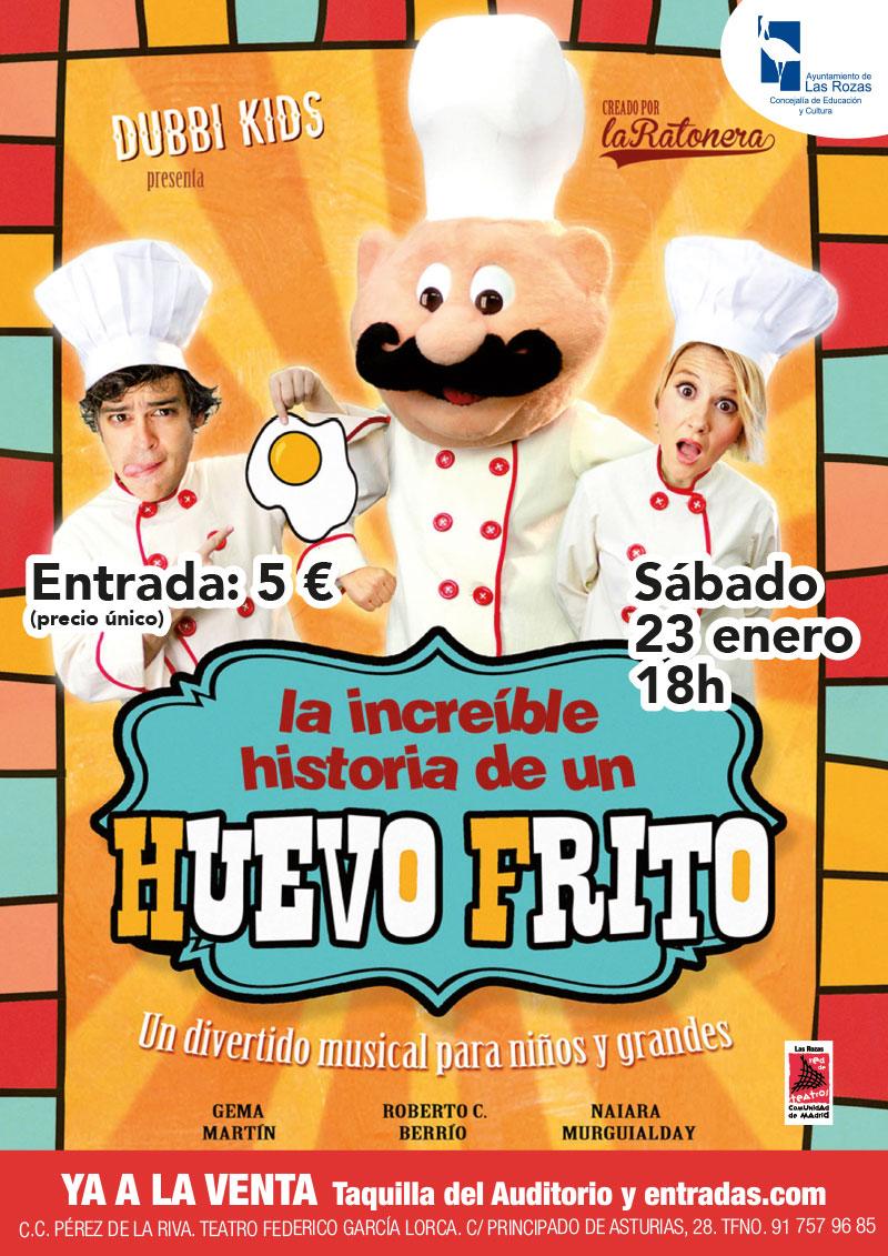 La nueva temporada de Las Rozas Clásica y las aventuras de un huevo frito, protagonistas de la agenda cultural