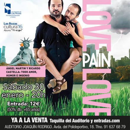 """Ángel Martín presenta en Las Rozas la comedia """"Love Pain Love"""""""