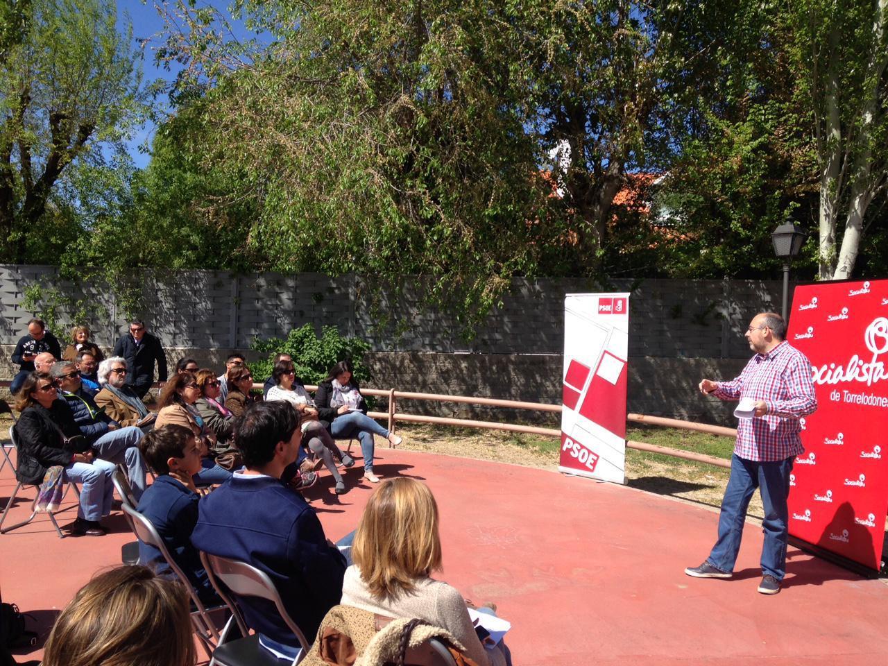 Los socialistas de Torrelodones presentan su web y lema de campaña