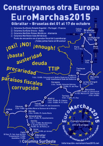 Las EuroMarchas llegan a Madrid