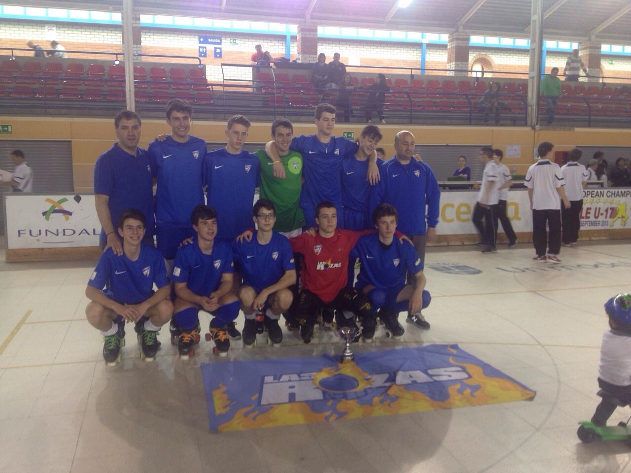 El equipo Infantil del C.P. Las Rozas disputará el campeonato de España