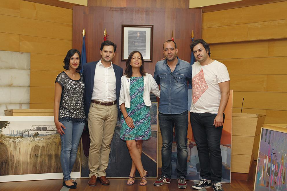 Richard García, ganador del XI Concurso de Pintura Rápida de Las Rozas
