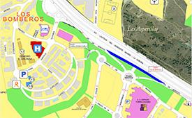 El 12 de noviembre se corta en Torrelodones un tramo de la vía de servicio en dirección Madrid