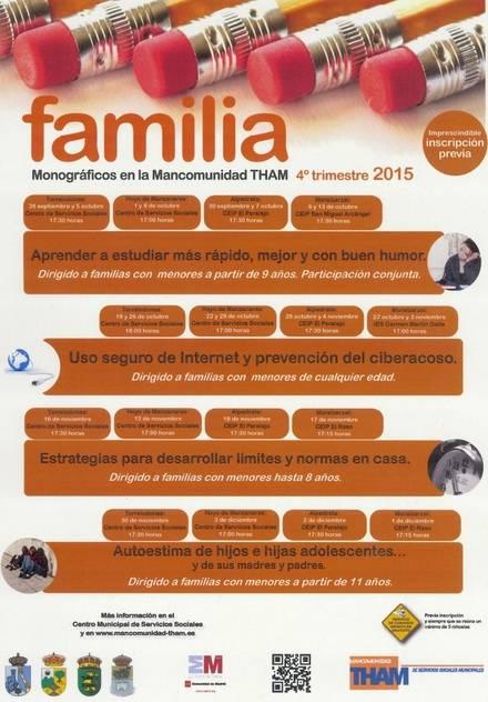 Talleres Monográficos de la Escuela de Familia de la THAM